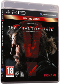 Metal Gear Solid V The Phantom Pain. PS3