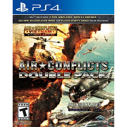 AIR CONFLICTS DOUBLE PACK. PS4