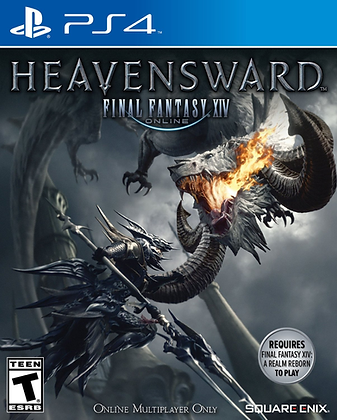 Final Fantasy XIV Online Heavensward. PS4