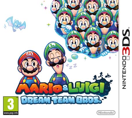 Mario & Luigi: Dream Team 3DS