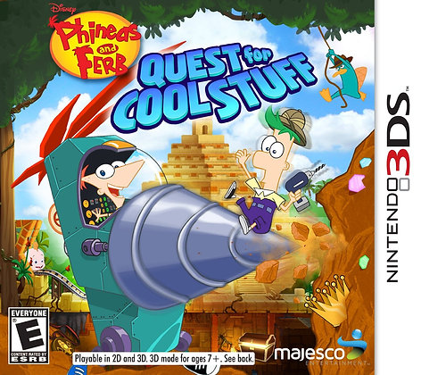 Phineas y Ferb Quest for Cool Stuff 3DS