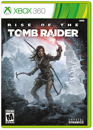 Rise of the Tomb Raider. Xbox 360