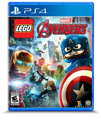 LEGO Marvel Vengadores. PS4