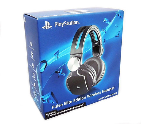 Pulse Elite Edition Wireless Stereo Headset. PS4