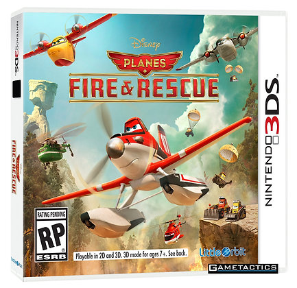 PLANES FIRE Y RESCUE 3DS