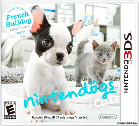 Nintendogs + Cats French Bulldog 3DS