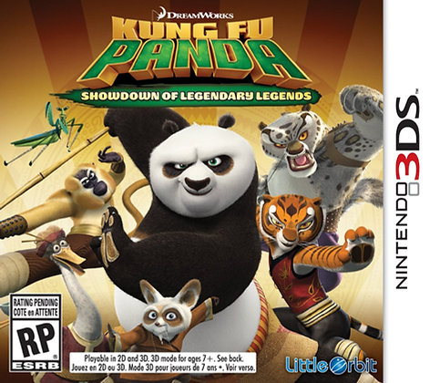 Kung Fu Panda Showdown of Legendary Lege. 3DS