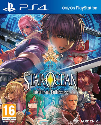 STAR OCEAN: Integrity & Faithlessness Ps4