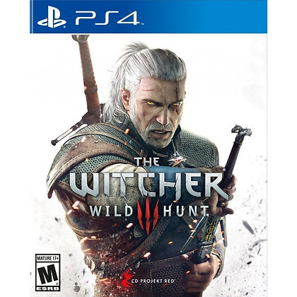 The Witcher 3 Wild Hunt. PS4