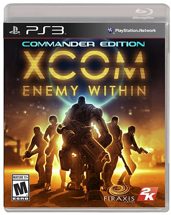 XCOM Enemy Within Commander Edition. PS3