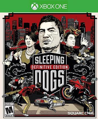 SLEEPING DOGS DEFINITIVE EDIT. Xbox One