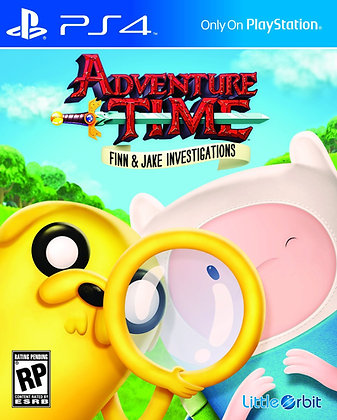 Adventure Time Finn & Jake Investigations. PS4