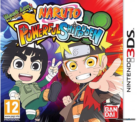 Naruto Powerful Shippuden 3DS