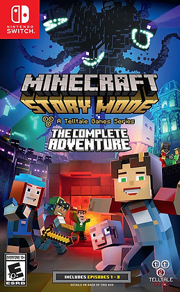 Minecraft: Story Mode Switch