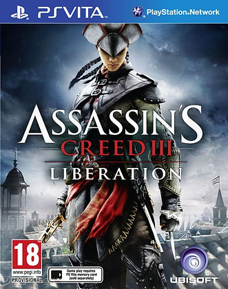 ASSASSINS CREED III LIBERA PSV