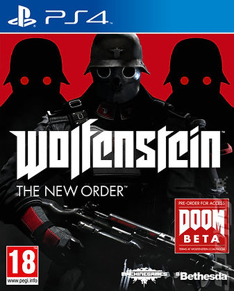 WOLFENSTEIN THE NEW ORDER. PS4