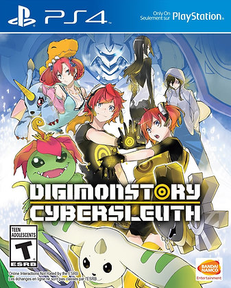 Digimon Story Cyber Sleuth. PS4.