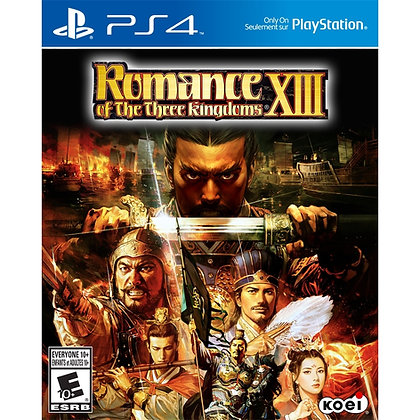 Romance Of The Three Kingdoms XIII. PS4