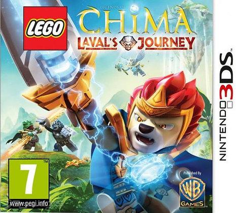 LEGO Legends of Chima: El Viaje de Laval 3DS