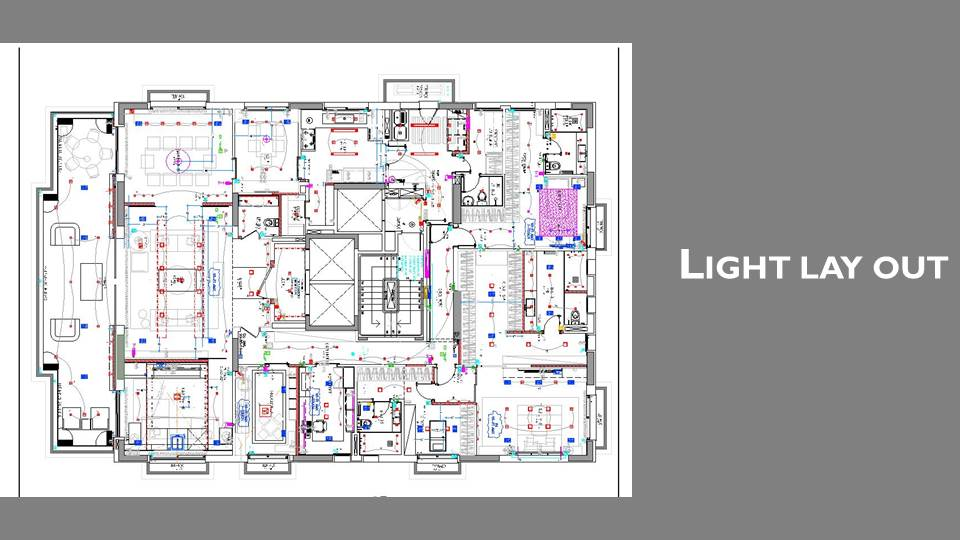 Light lay out
