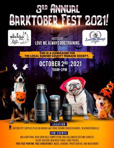 Mark Your Calendar for our Barktober Fest 2021!