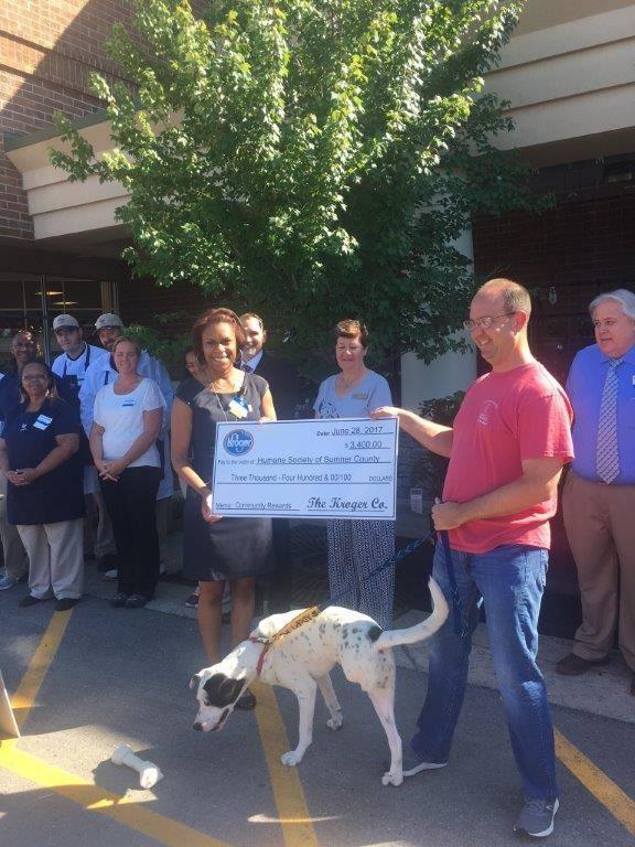 Kroger at Glenbrook Donation