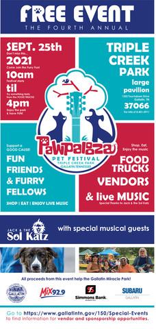 4th Annual Pawpalooza Event