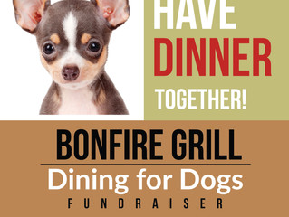 Dining for Dogs at Bonfire Mongolian Grill
