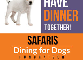 Dining for Dogs April 16, 2019