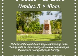 Durham Farms Vital Walk for HSSC