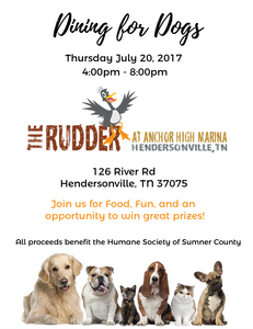 DINING FOR DOGS | HUMANE SOCIETY OF SUMNER COUNTY