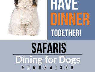 Dining For Dogs - Safaris