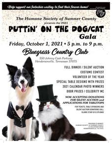 2021 PUTTIN' ON THE DOG/CAT GALA