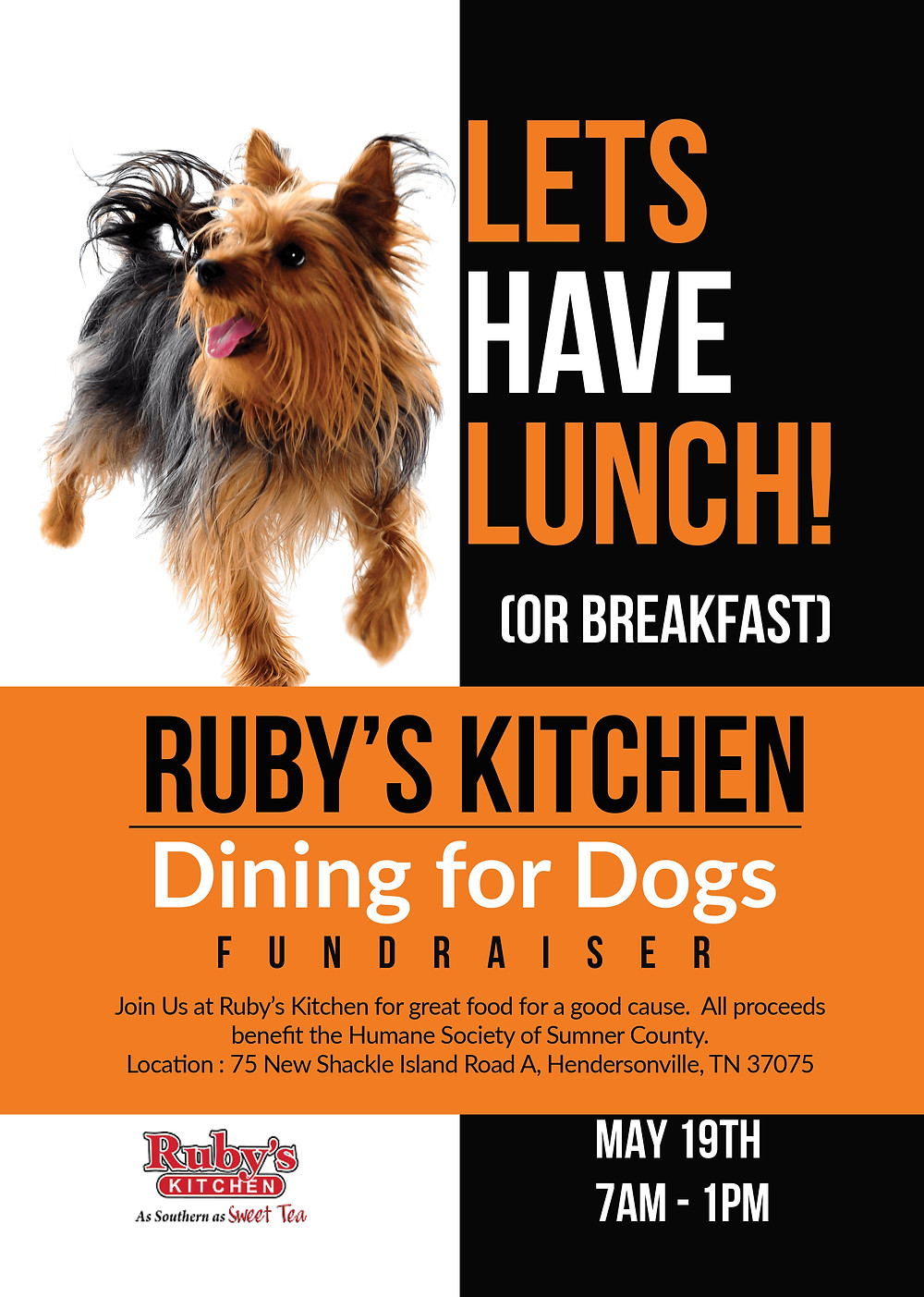 Dining for Dogs Fundraiser