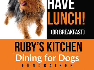 Dining For Dogs - Ruby's Kitchen