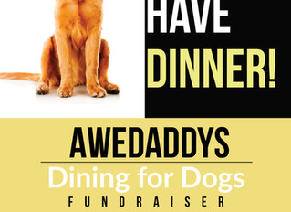 Dining For Dogs Event - Awedaddys!