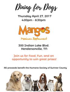 Mangos Hendersonville Sumner County Humane Society
