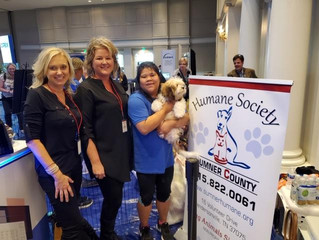 HSSC Host Puppy Booth at Gaylord Opryland Hotel