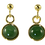 Thumbnail: Round Drop Earrings