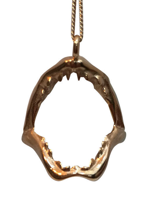 Shark Jaw Pendant