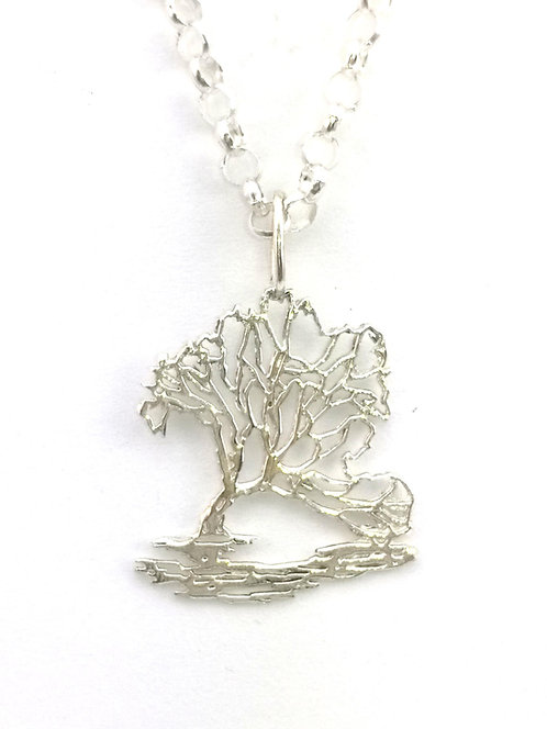 Lone Tree of Lake Wanaka Pendant