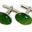 Thumbnail: Oval Cufflinks with Cabochon
