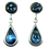 Thumbnail: Tear Drop Earrings with Cabochon