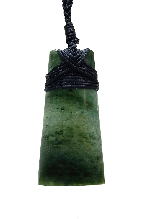 Polished Greenstone (NZ Jade) Toki 55mm