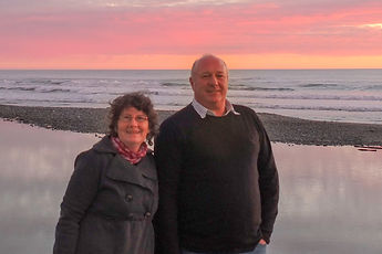 Geoff and Lee - owners of South Island Tours