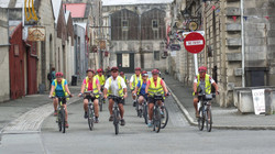 Cycling through The Old Precinct