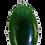 Thumbnail: Large Oval Greenstone & 9ct Gold Pendant