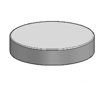 Polyethylene plastic protective bin lid 470mm diameter