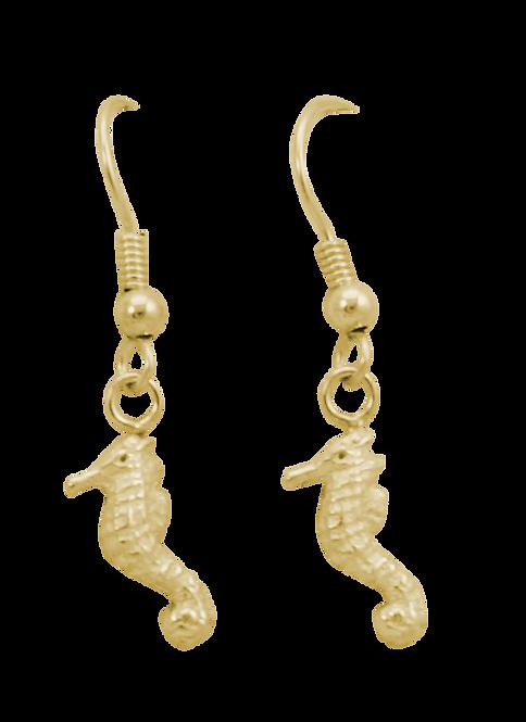 Seahorse Drop Earring