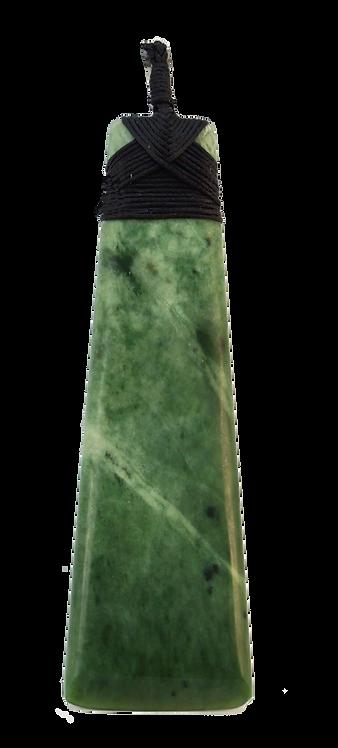 Greenstone (NZ Jade) Toki 70mm